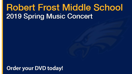 2019 Robert Frost Middle School Spring Music Concert