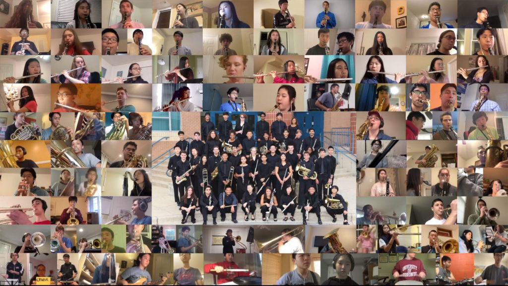 2020 Wootton High School Virtual Band Performance